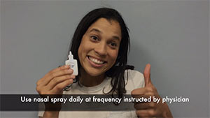 Nasal Spray Instructions